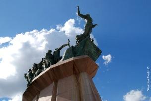 monumento al pueblo Puntano en San Luis