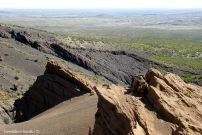 Volcán Malacara, comienzo de la Payunia