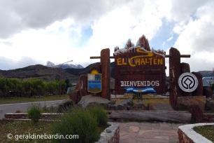 entrada a El Chaltén