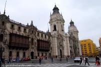 Catedral, Plaza de Armas