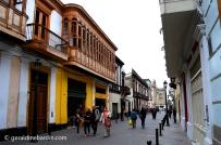 Girones en el centro histórico