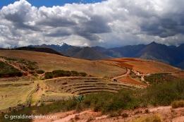 Moray. laboratorio agrícola Inca