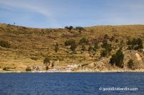 Isla del Sol. Lago Titicaca