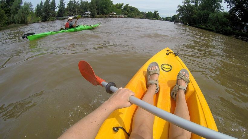 Kayak en Tigre